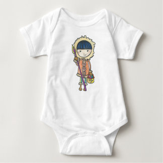 Akiou small the Inuit Baby Bodysuit