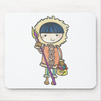 Akiou small the Inuit Mouse Pad