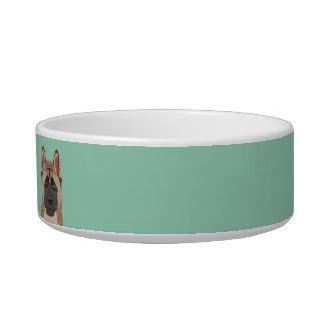 Akita Cat Food Bowl