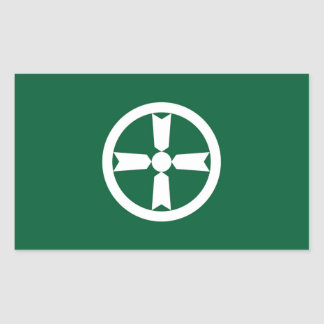 Akita city flag Akita prefecture japan symbol Sticker