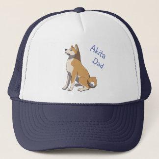 """""""Akita dad"""" more trucker cap Trucker Hat"""