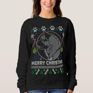 Akita Dog Breed Ugly Christmas Sweater