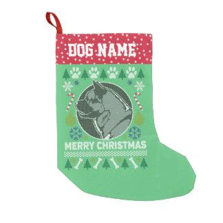 Akita Dog Breed Ugly Christmas Sweater Small Christmas Stocking
