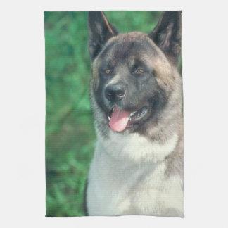 Akita Dog Kitchen Towel