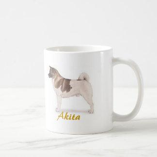 Akita, Dog Lover Galore! Classic White Coffee Mug