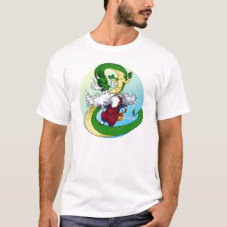 Akita & Dragon T-Shirt