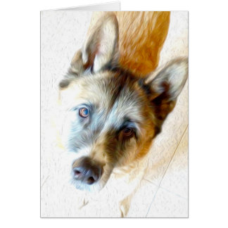 Akita face any occasion card