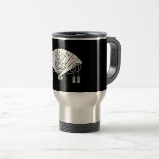 Akita fan travel mug
