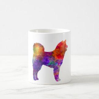 Akita Inu 01 in watercolor 2 Coffee Mug