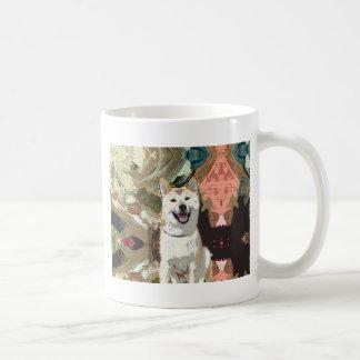 Akita Inu Dog Coffee Mug