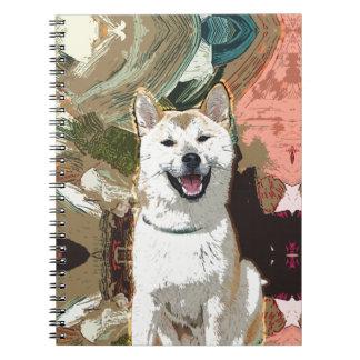 Akita Inu Dog Notebook
