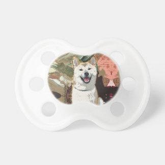 Akita Inu Dog Pacifier