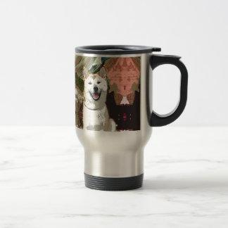Akita Inu Dog Travel Mug
