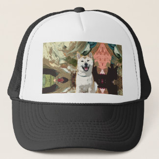 Akita Inu Dog Trucker Hat