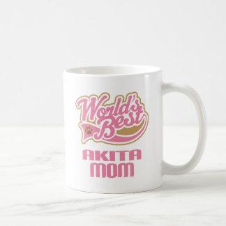 Akita Mom Dog Breed Gift Coffee Mug