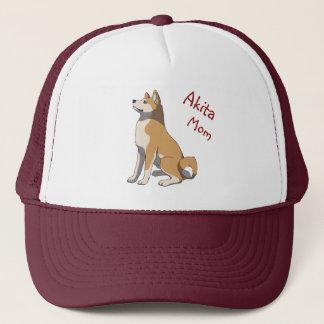 """""""Akita mom"""" more trucker cap"""