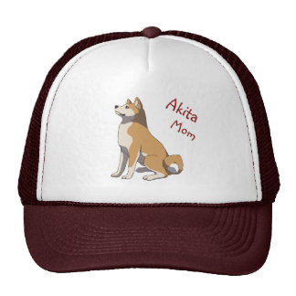 """Akita mom"" more trucker cap Trucker Hat"
