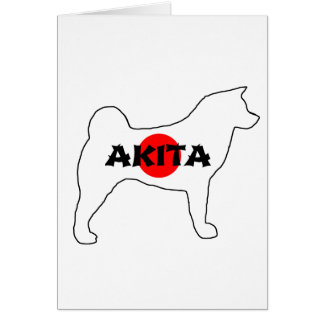 akita name flag silo card
