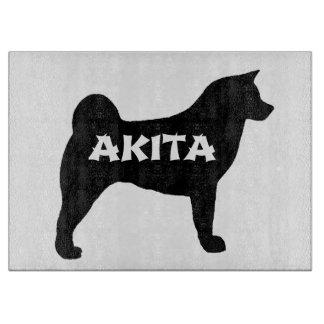 akita name silo cutting board