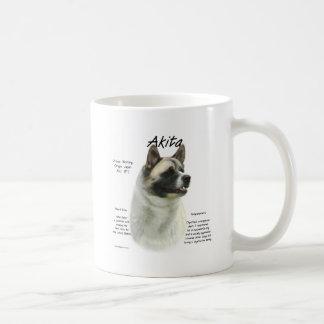Akita (pinto) History Design Coffee Mug