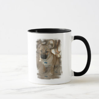 Akita Puppy  Coffee Mug