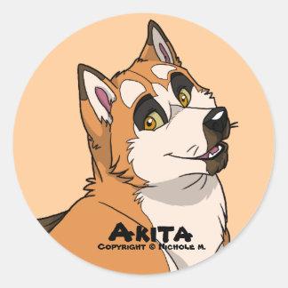Akita Sticker
