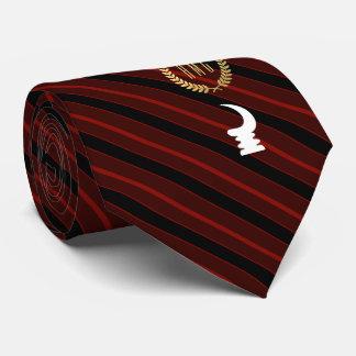AKOBEN | symbol of vigilance and wariness Tie