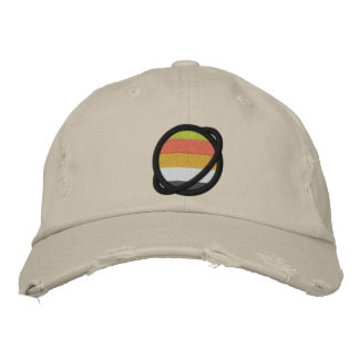 Akoiromantic/Lithromantic Planet Embroidered Hat