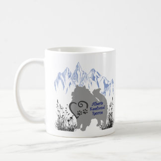 AKR Logo - Blue Grey - Coffee & Kees Fur Coffee Mug