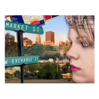 Akron 8 Pk. Postcard