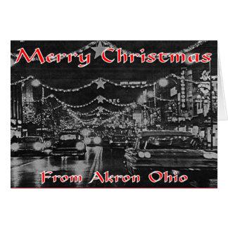Akron Christmas Card. Card