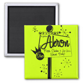 Akron Jojo's & Chicken Magnet