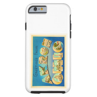 Akron Ohio OH Old Vintage Travel Souvenir Tough iPhone 6 Case