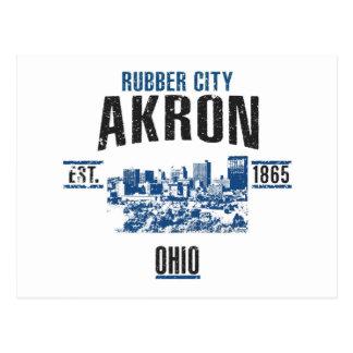 Akron Postcard