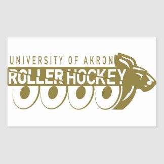 Akron Roller Hockey Sticker
