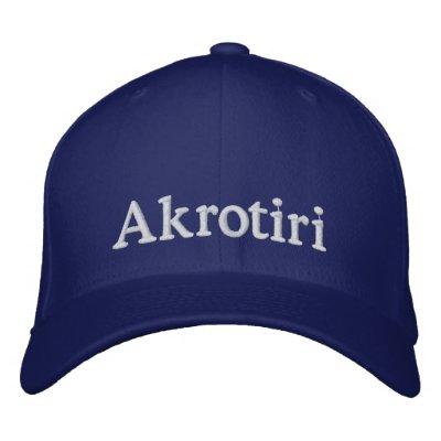 Akrotiri Hat Embroidered Baseball Caps