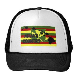 Akua's Country Kanaka Maoli Flag Trucker Hat