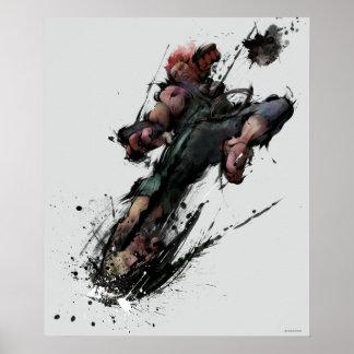 Akuma Kick Posters