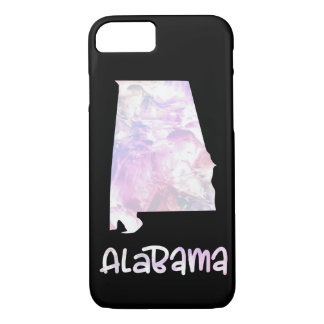 AL Alabama State Iridescent Opalescent Pearly iPhone 8/7 Case