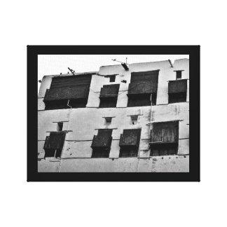 Al Balad Apartment Canvas Print