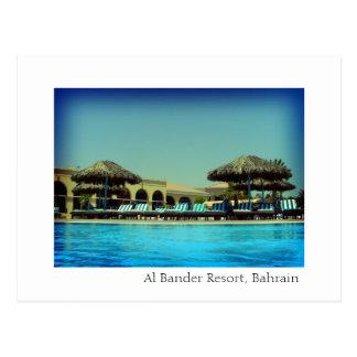 Al Bander Resort, Bahrain Postcard