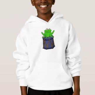 AL- Funny Frog on a Drum Shirt