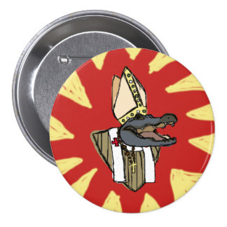 Al G. for Pope 3 Inch Round Button
