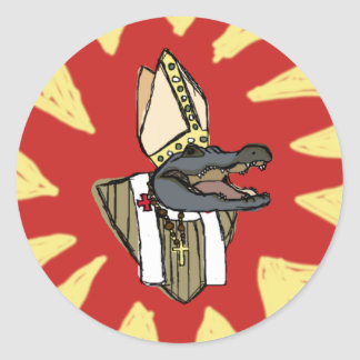 Al G. for Pope Classic Round Sticker