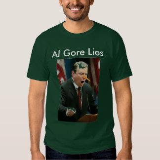 Al Gore Lies Tshirts