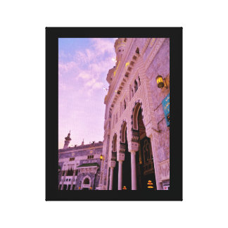 Al Haram Mosque Canvas Print