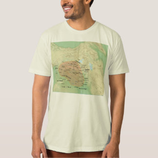 Al-Jazira Regional Map and it's Subdivisions T-Shirt