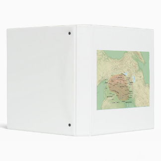 Al-Jazira Regional Map and it's Subdivisions Vinyl Binder