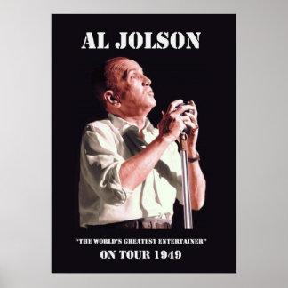 Al Jolson on Tour Poster