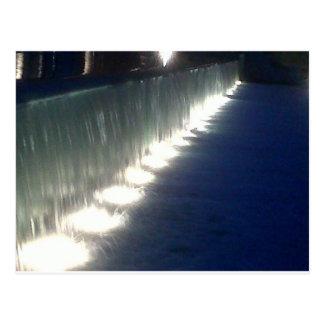 al kout fountain and falls postcard